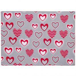 Hearts tányéralátét, 33 x  45 cm