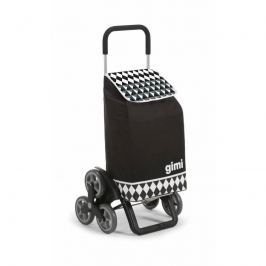 Gimi Kerekes bevásárlókocsi Tris Optical fekete, 56 l