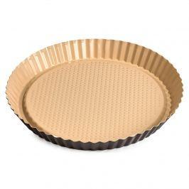 4Home pite sütőforma, kerámia bevonattal, barna, 28 cm, m. 3 cm