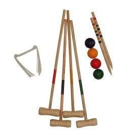Krikett játékszett 4 játékos számára