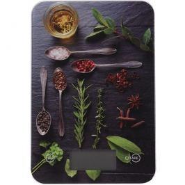 Spices digitális konyhai mérleg, 5 kg, rosemary