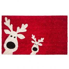Happy Reindeers lábtörlő, 43 x 73 cm