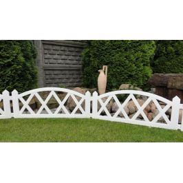 Kerti kis kerítés 2,3 m – fehér