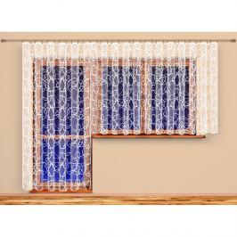 4Home Terezie függöny, 350 x 175 cm, 350 x 175 cm