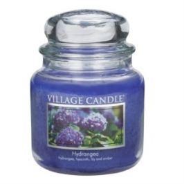 Village Candle illatos gyertya üvegedényben Hortenzia - Hydrangea, 397 g, 397 g