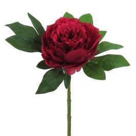 Művirág Bazsarózsa piros, 34 cm
