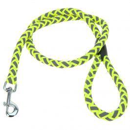Neon sárga kutyapóráz , S méret