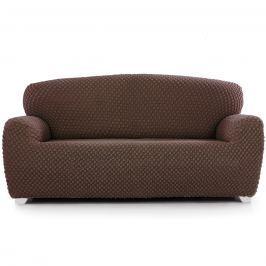 Contra multielasztikus kanapéhuzat barna  , 180 - 220 cm
