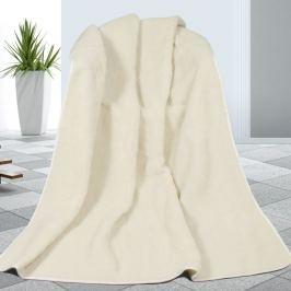 Bellatex Gyapjú pléd fehér, 155 x 200 cm
