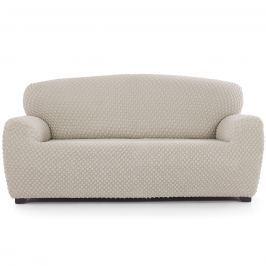 Contra multielasztikus kanapéhuzat krémszínű, 180 - 220 cm