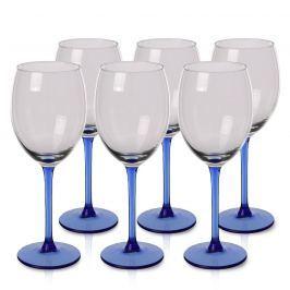 Blue 6 részes borospohár-készlet, 330 ml