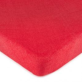 4Home frottír lepedő piros , 90 x 200 cm, 90 x 200 cm
