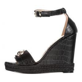 Versace Jeans Telitalpú cipő Fekete