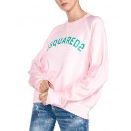 DSQUARED2 Melegítő felső Rózsaszín