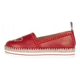 Love Moschino Espadrilles Piros