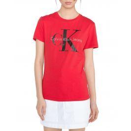 Calvin Klein Shrunken Póló Piros