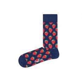 Happy Socks Strawberry Zokni Kék Piros