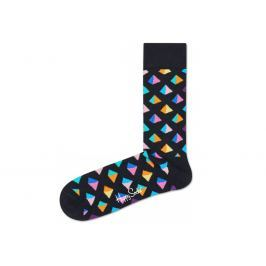 Happy Socks Pyramid Zokni Fekete Többszínű