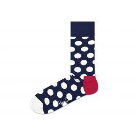Happy Socks Big Dot Zokni Kék