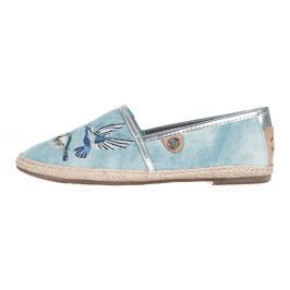 Tom Tailor Espadrilles Kék