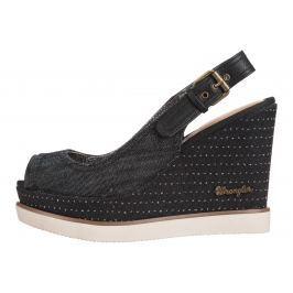 Wrangler Kelly Chan Telitalpú cipő Fekete