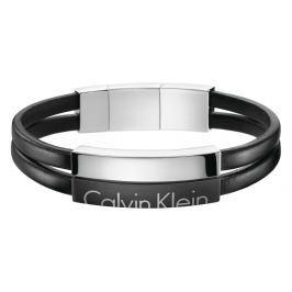 Calvin Klein Karkötő Fekete Ezüst