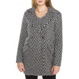 Vero Moda Paris Kabát Fekete Fehér