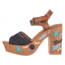 Wrangler Festival Grace Magassarkú cipő Barna