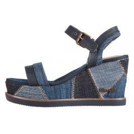 Wrangler Jeena Telitalpú cipő Kék