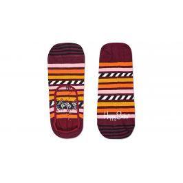Happy Socks Stripe & Stripe Zokni Piros