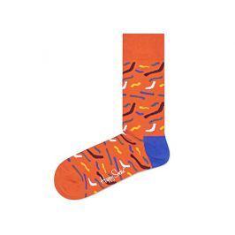 Happy Socks Papercut Zokni Narancssárga