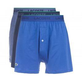 Lacoste 3 db-os Bő szárú boxeralsó szett Kék