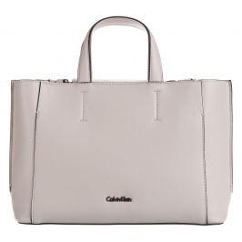 Calvin Klein Metropolitan Small Kézitáska Fehér Bézs