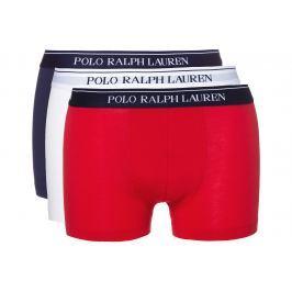 Polo Ralph Lauren 3 db-os Boxeralsó szett Kék Piros Fehér