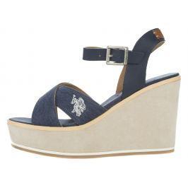 U.S. Polo Assn Rosy Telitalpú cipő Kék