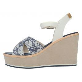 U.S. Polo Assn Rosy Flowers Telitalpú cipő Kék Bézs