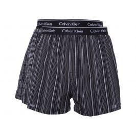Calvin Klein 2 db-os Bő szárú boxeralsó szett Fekete