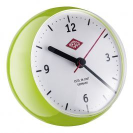 Wesco Mini asztali óra időzítővel, világoszöld