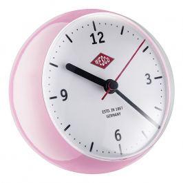 Wesco Mini asztali óra időzítővel, rózsaszín