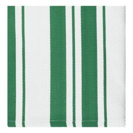 MÜkitchen MÜincotton® kisméretű konyharuha / törölköző, 2 db, smaragdzöld csíkokkal