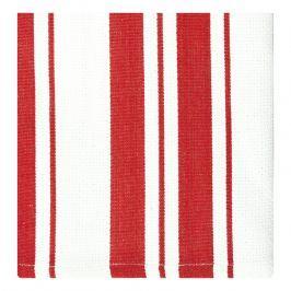 MÜkitchen MÜincotton® kisméretű konyharuha / törölköző, 2 db, piros csíkokkal