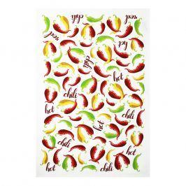 MÜkitchen MÜincotton® konyharuha / törölköző, Chilli Peppers