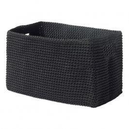 ZONE Kozmetikai tárolódoboz, téglalap alakú, black