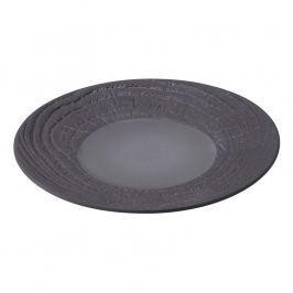 REVOL Arborescence desszertes tányér; medvecukorfekete; Ø 21,5 cm; Revol