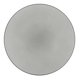 REVOL Equinoxe lapostányér, Ø 28 cm, holdezüst