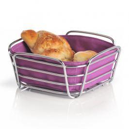 Blomus DELARA kis kenyérkosár, lila Blomus