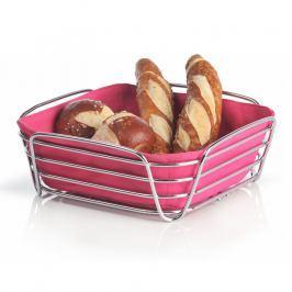 Blomus DELARA nagy kenyérkosár, rózsaszín
