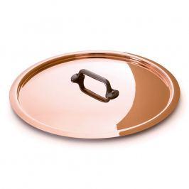 MAUVIEL Rézfedő öntöttvas fogantyúval, Ø 16 cm