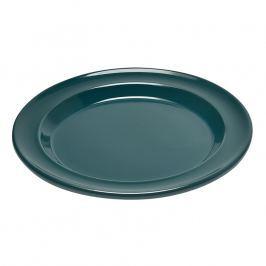 Emile Henry Desszertes tányér, kék/blue flame