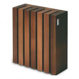WÜSTHOF Mágneses késtartó, 6 darabhoz, barna fa